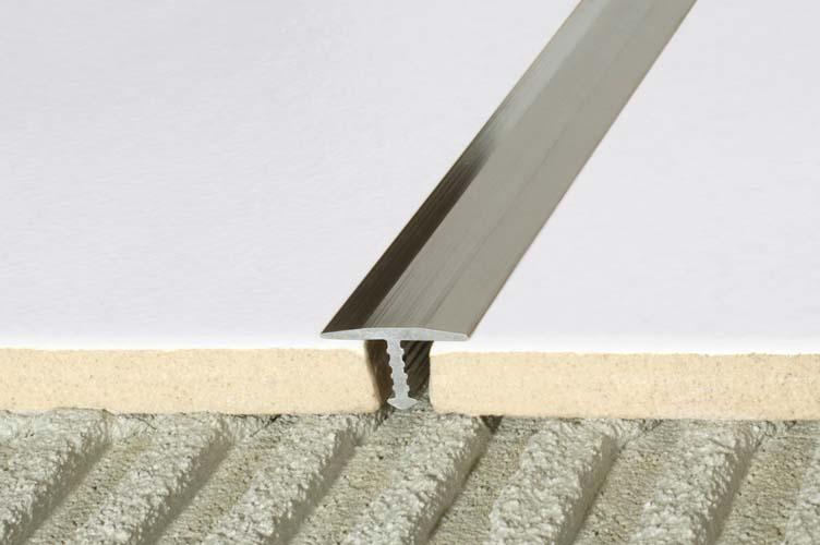 Aluminiowe mosiężne listwy do glazury i terakoty